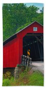 Hune Covered Bridge Bath Towel