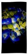 Blue Hydrangea, Corona Del Mar California Bath Towel