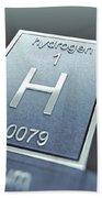 Hydrogen Chemical Element Bath Towel