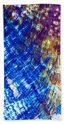 Hydroquinone Microcrystals Color Abstract Art Bath Towel