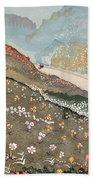 Illustration For Kim By Rudyard Kipling Bath Towel