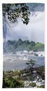 Iquazu Falls - South America Bath Towel