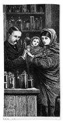 Ireland: Vaccination, 1880 Bath Towel