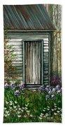 Iris By Barn Bath Towel