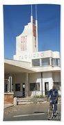 Italian Colonial Architecture In Asmara Eritrea Bath Towel