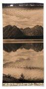 Jackson Lake Wyoming Bath Towel