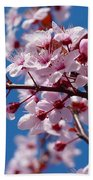 Japanese Cherry Tree Bath Towel