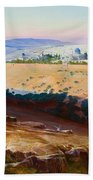 Jerusalem From The Mount Of Olives Bath Towel