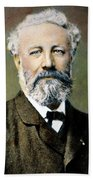 Jules Verne (1828-1905) Bath Towel
