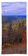 Keweenaw Peninsula And Copper Harbor Bath Towel