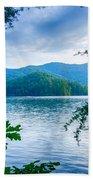 Lake Santeetlah In Great Smoky Mountains North Carolina Bath Towel