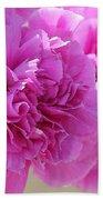 Lavender Carnations Bath Towel