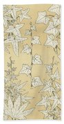 Leaves From Nature Bath Towel