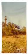 Lighthouse Landscape Bath Towel