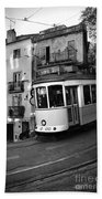 Lisbon Tram Bath Towel
