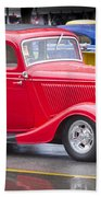 Little Red Coup Hand Towel