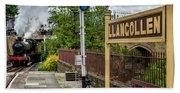 Llangollen Railway Station Bath Towel