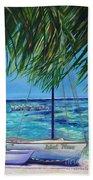 Lokal Flava Caye Caulker Belize Bath Towel