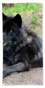 Lone Wolf Bath Towel