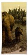 Mammoths Bath Towel