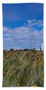 Marjaniemi Lighthouse Bath Towel