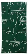Mathematics Bath Towel