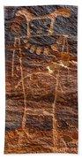 Mckee Springs Petroglyph - Utah Hand Towel