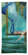 Mermaids Lazy Lagoon Bath Towel