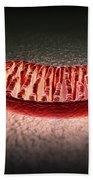 Mitochondria Cut Bath Towel