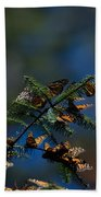 Monarch Butterflies Bath Towel