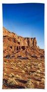 Monument Valley -utah V5 Bath Towel