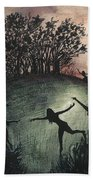 Moonlight Dance Bath Towel