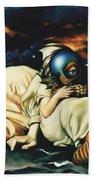 Mother And Child Reunion Bath Towel