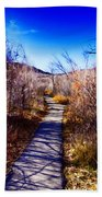 Mountain Creek Path-sundance Utah Bath Towel