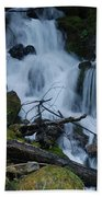 Mountain Waterfall Bath Towel