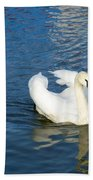 Mute Swan Bath Towel