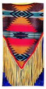 Native American Shawl  Bath Towel