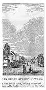 New Jersey Newark, 1844 Bath Towel