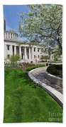 D13l-145 Ohio Statehouse Photo Bath Towel