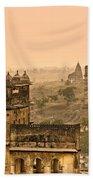 Orchha's Palace - India Bath Towel
