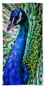Peacock Bath Towel