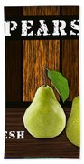 Pear Farm Bath Towel