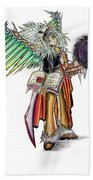 Pelusis God Of Law And Order Bath Towel by Shawn Dall
