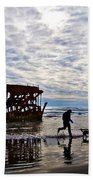 Peter Iredale Shipwreck, Fort Stevens Hand Towel