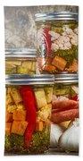 Pickled Vegetables Bath Towel