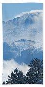 Pikes Peak Colorado Bath Towel