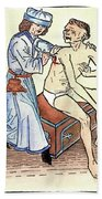 Plague Physician, 1482 Bath Towel