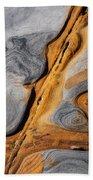 Point Lobos Abstract 4 Bath Towel