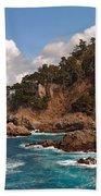 Point Lobos Bath Towel