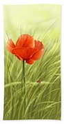 Poppy Hand Towel